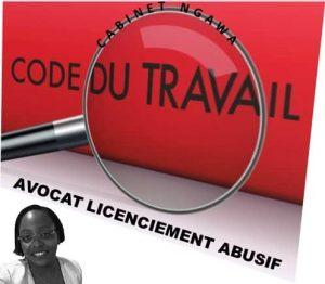 avocat licenciement abusif paris;je suis licencié que faire;porter plainte contre son patron
